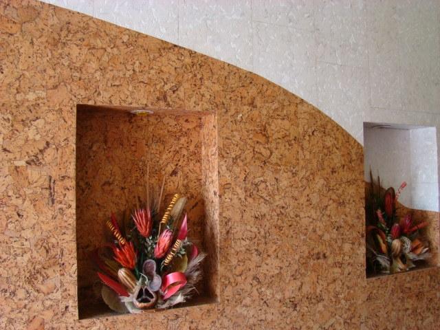 Уникальность отделочных изделий из коры пробкового дерева.