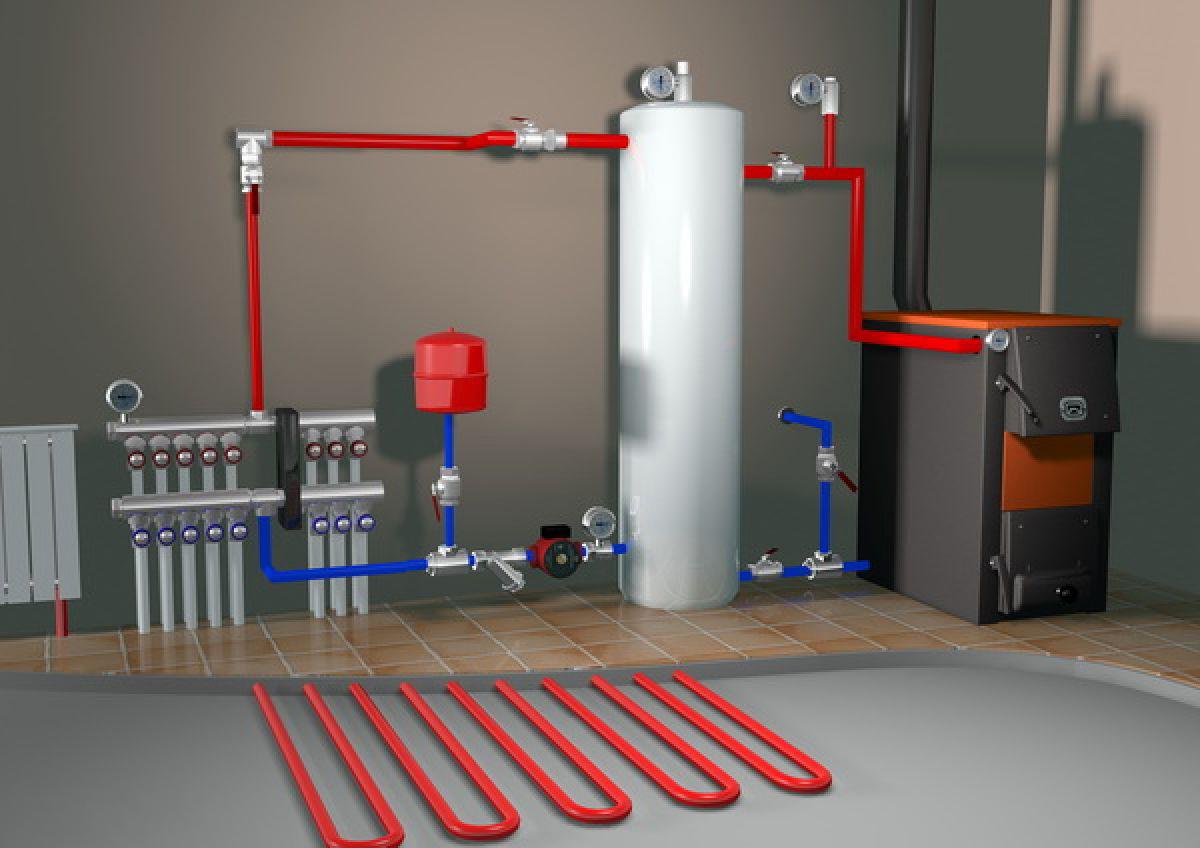Монтаж отопления в вашей квартире