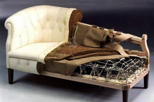 Самостоятельная процедура перетяжки мебели