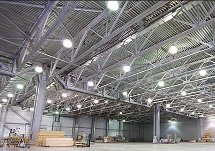 Системы освещения для складов
