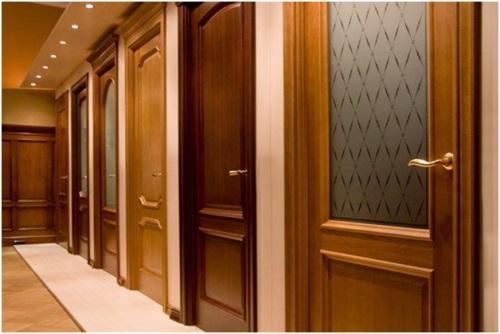 Выбор конструкции межкомнатных дверей