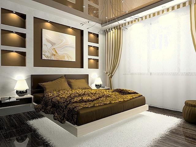 Интересные советы по вопросам обустройства дизайна спальной комнаты