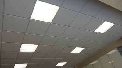 Применение встраиваемых потолочных светодиодных светильников для освещения офисных помещений