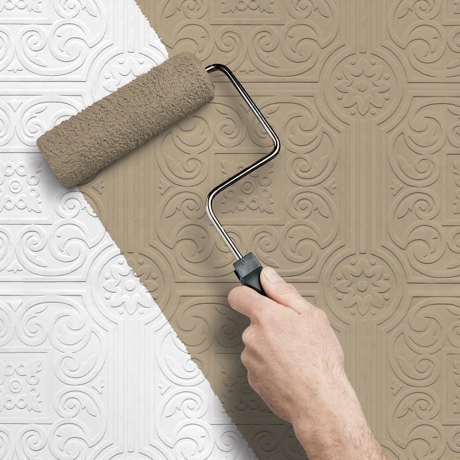 Какими бывают обои для стен под покраску?