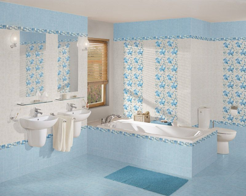 Какого цвета должна быть керамическая плитка в ванной комнате?