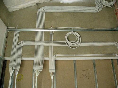 Выполнение электромонтажных работ в квартире под ключ