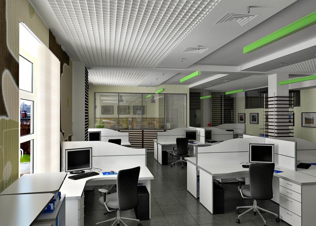 Сделайте офисное помещение современным и комфортным