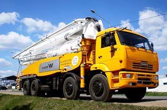 Арендуйте бетононасос по выгодной цене в городе Хабаровск