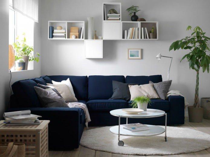 Угловой диван как функциональный и удобный элемент мебели