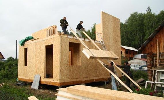 Преимущество строительства домов из СИП панелей