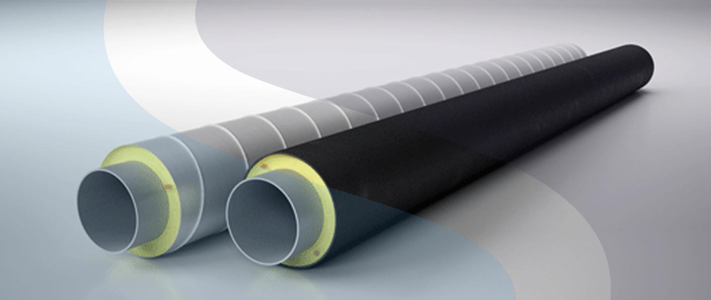 Изоляция труб из пенополиуретановых материалов
