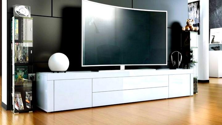 Как правильно выбрать современную тумбу под телевизор?