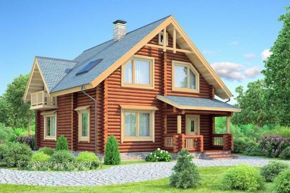 Бревенчатые дома: плюсы и минусы