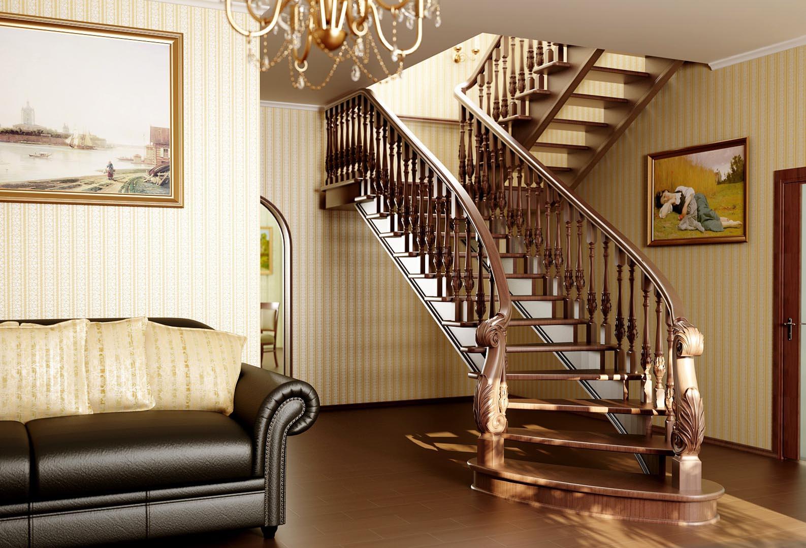 Росферрум –  оригинальные лестницы из дорогих пород дерева