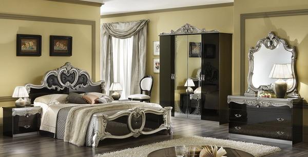 Варианты обустройства спальни в итальянском стиле
