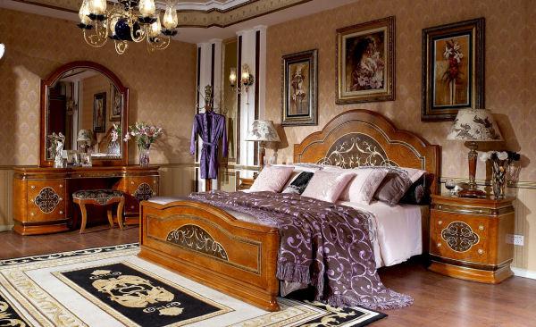 Выбираем мебель для итальянской спальни