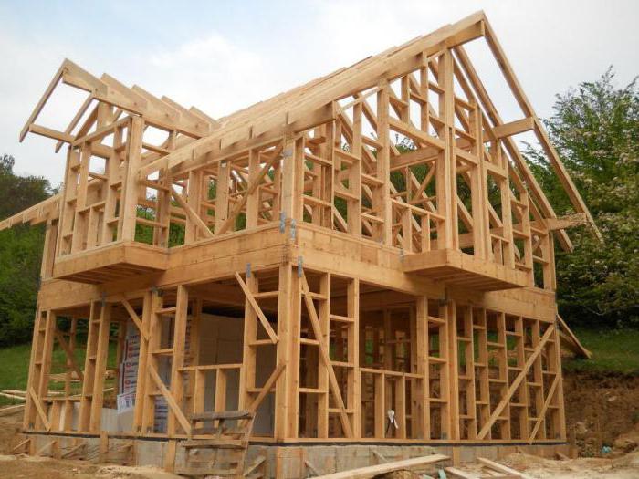 Особенность строительства домов каркасного типа