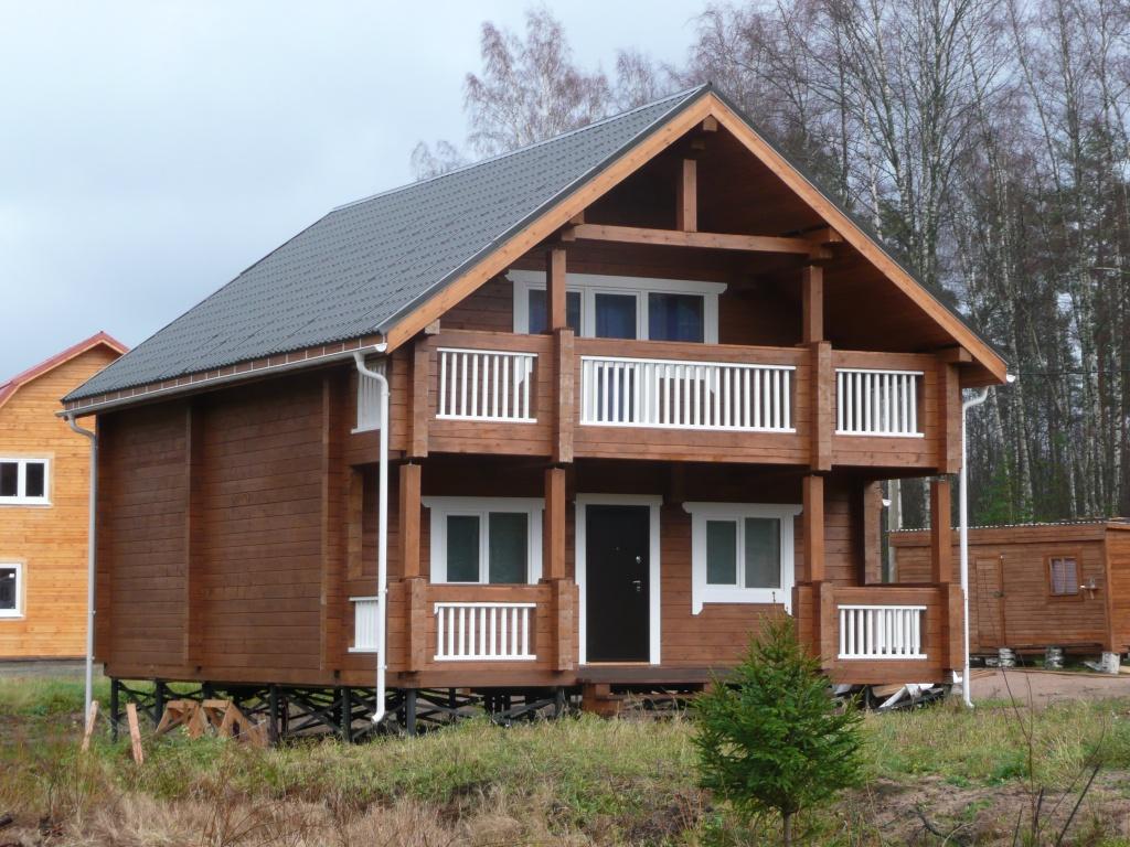 Каркасный дом, в который вы заселитесь через 1-2 месяца