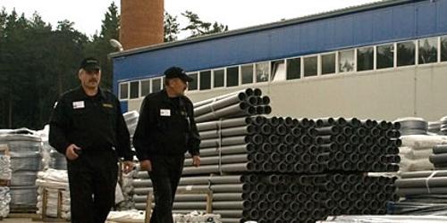 Охрана стройки, или как строить без потерь стройматериалов