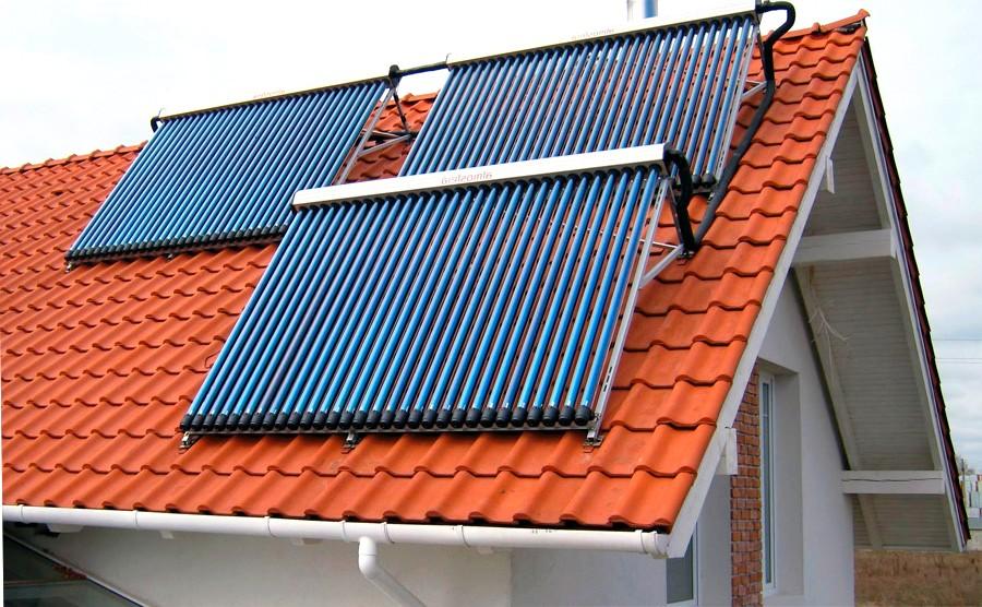 Преимущества солнечных коллекторов при отоплении дома
