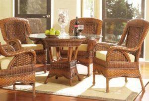 Особенности и преимущества ротанговой мебели