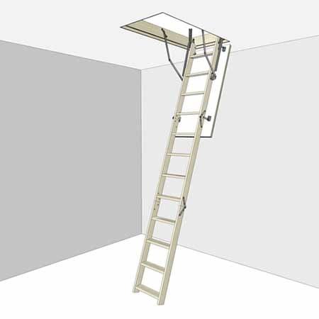 Чердачные лестничные конструкции Docke