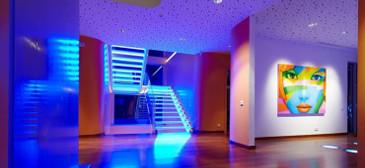 Внутреннее светодиодное освещение: разновидности