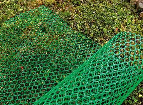Использование пластиковой сетки для ограждений