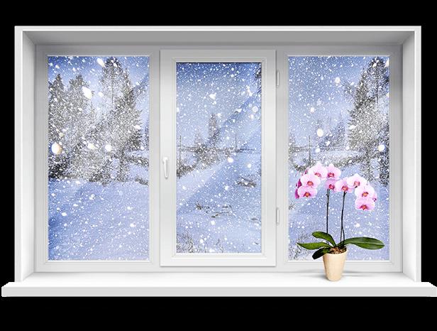 Особенности работы с пластиковыми окнами зимой