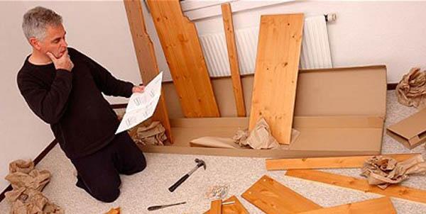 Самостоятельная сборка мебели: советы профессионалов