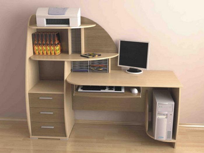 Компьютерные и письменные столы на заказ
