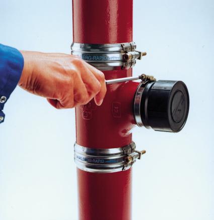 Чугунная канализация SML – современный и качественный аналог