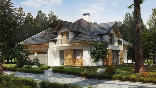 Дома с мансардой – отличное и современное решение