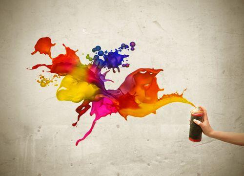 Краска в баллончиках – отличная вещь для украшения вашего дома