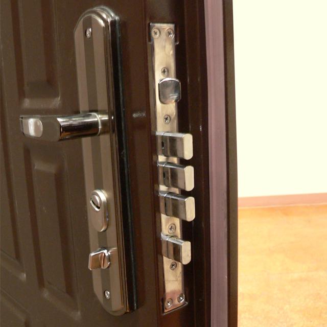 Какие замки поставить на входные и межкомнатные двери в доме?