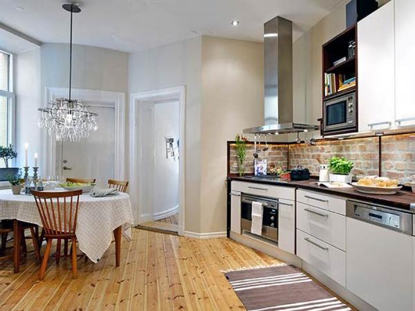 Кухня в скандинавском стиле это практичное и современное решение