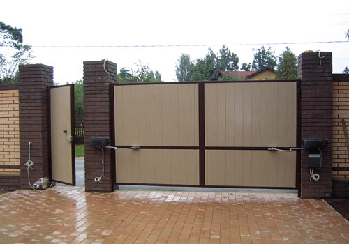 Автоматические ворота – лучшее решение для гаражей и ограждений