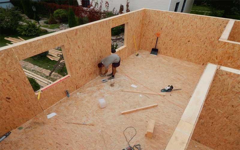 Особенности и преимущества каркасно-щитовых домов