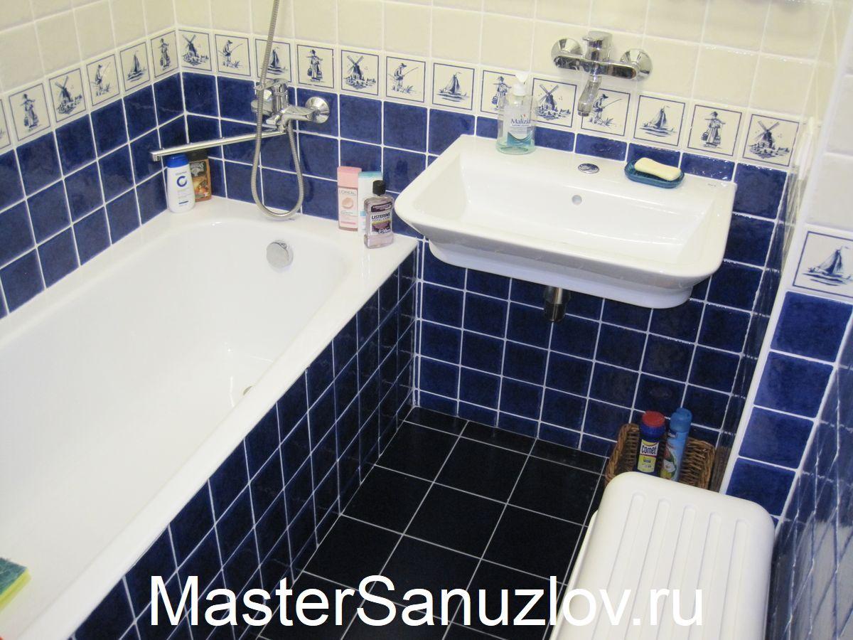 Ремонт ванной комнаты - дело не шуточное