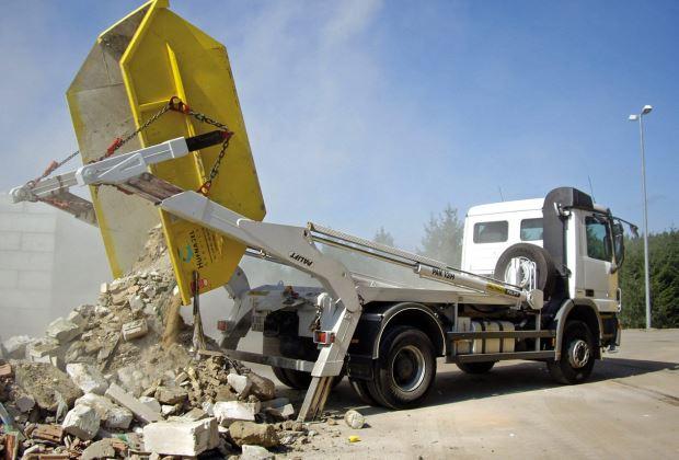 Как можно вывезти большое количество строительного мусора?