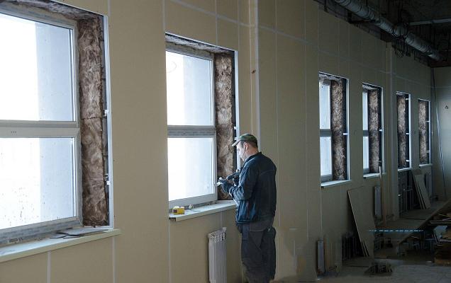 Отделочные материалы для внутренних стен жилых, коммерческих и промышленных зданий
