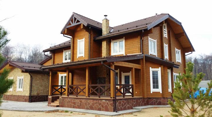 Собственный деревянный дом гораздо лучше городской квартиры