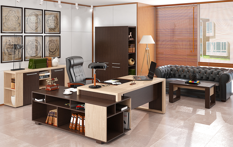 Где можно приобрести качественную мебель для руководства?