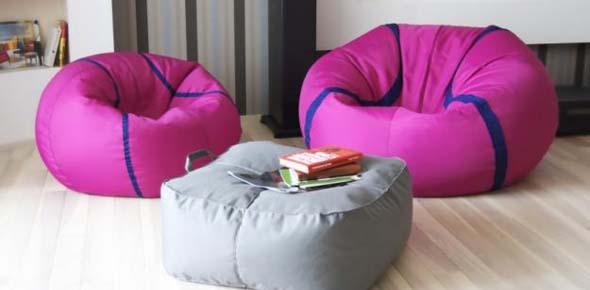Полезные советы по выбору бескаркасной мебели