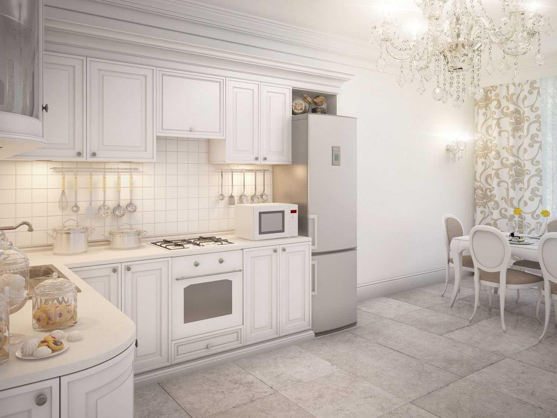 Как правильно ухаживать за светлой кухней?