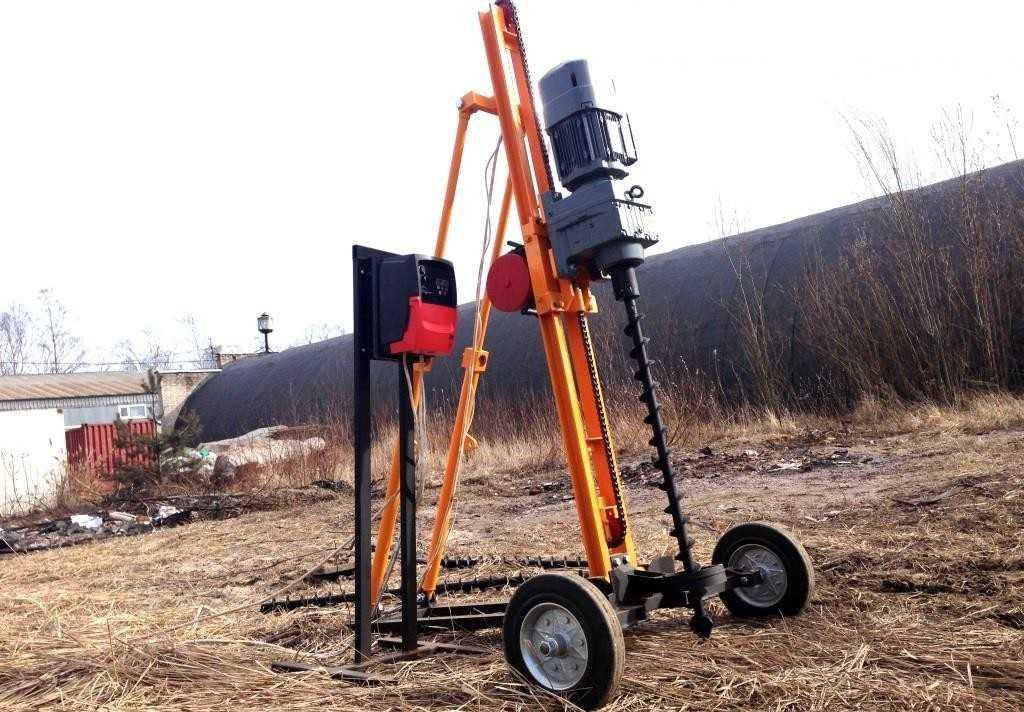 Малогабаритные буровые установки – маневренность и простота использования