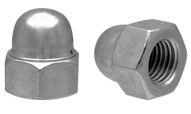 Колпачковая гайка – надежный метиз с высокими декоративными свойствами