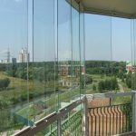 Варианты остекления лоджий и балконов